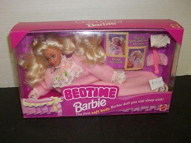 Slightly Creepy Bedtime Barbie