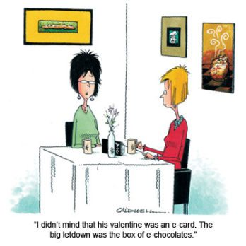 Cartoons for Valentine's Day
