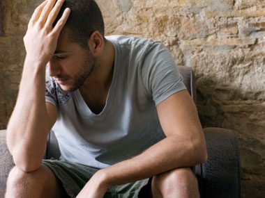 why men say no to sex, depressed