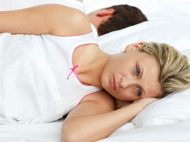 why men say no to sex, upset woman