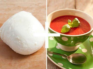 Cheese + Tomato Soup = One-Mug Dinner