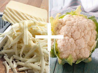 """Cheese + Cauliflower = """"Mashed Potatoes"""""""