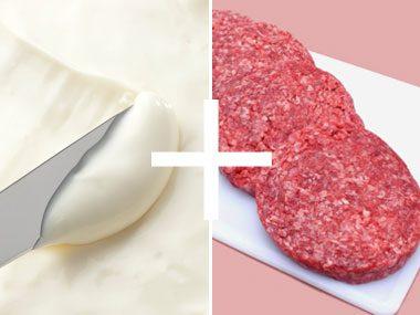 Cheese + Hamburger = Double Cheeseburger Dip
