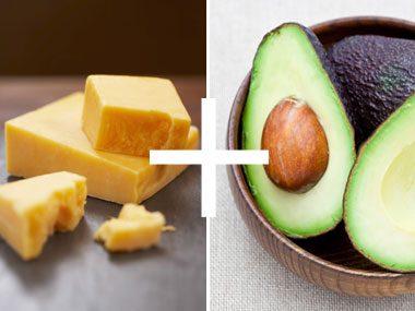Cheese + Avocado= Who Knew?