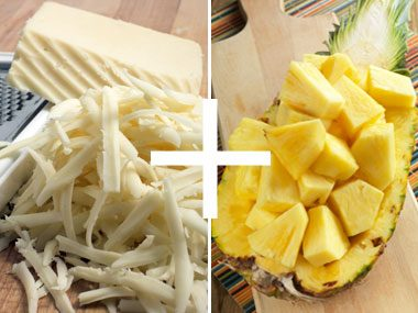 Cheese + Pineapple = Quickbread