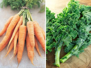 Do you gladly eat your carrots and kale?