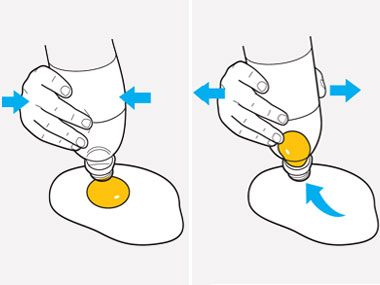 Separate Egg Yolks and Whites