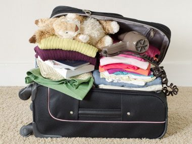 squeeze more out of everything, suitcase