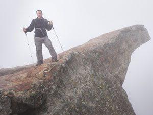 terror on the cliff