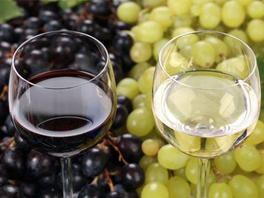 True or False: red wine is made from red grapes, and white wine is made from white grapes