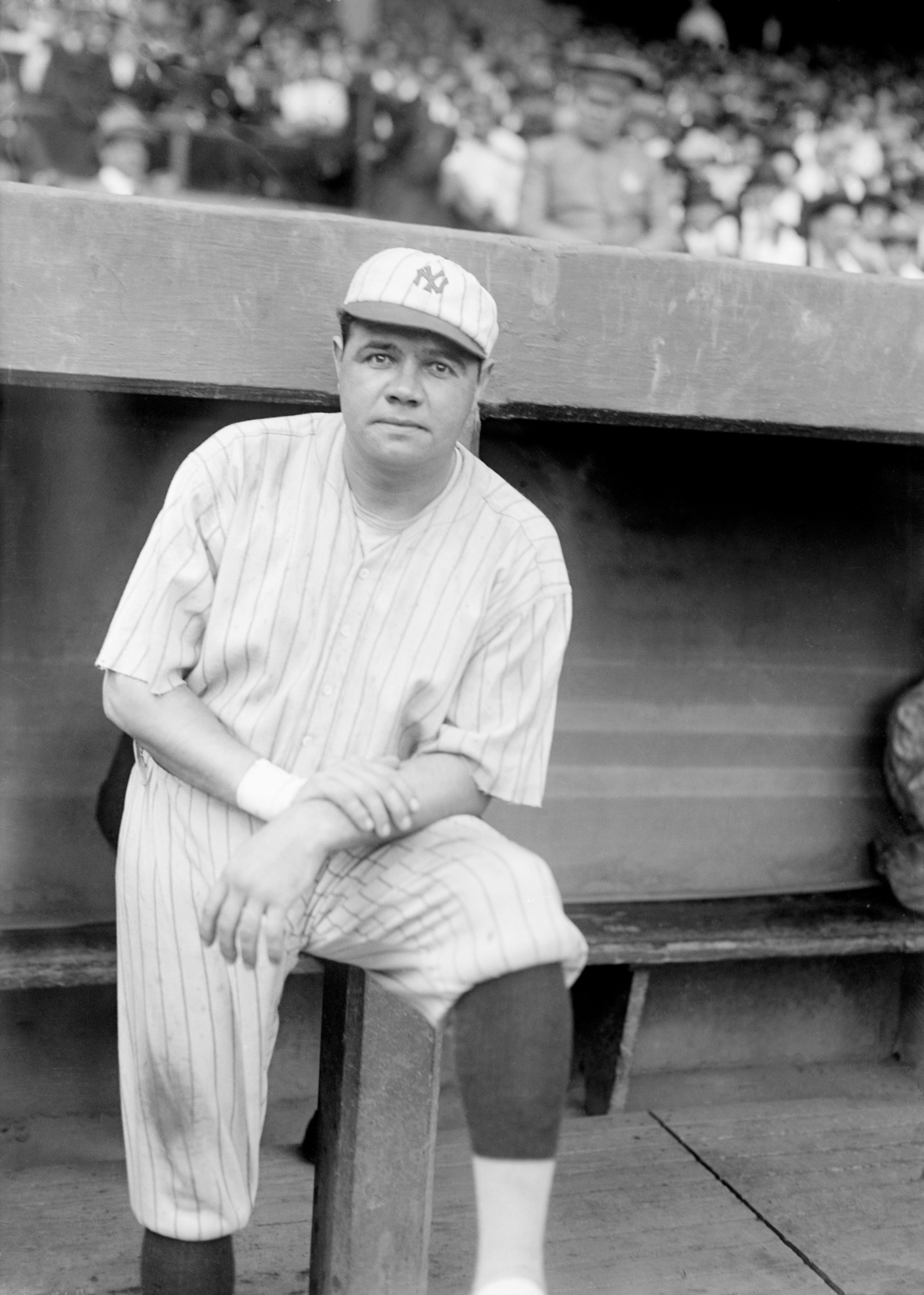 Mandatory Credit: Photo by Everett/Shutterstock (10284338a) Babe Ruth, 1921 Historical Collection