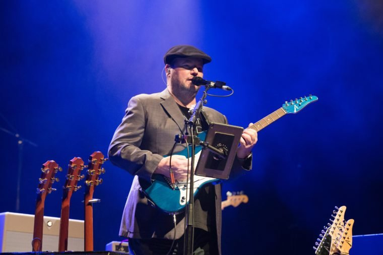Christopher Cross performs at Le Trianon on November 18, 2018 in Paris, France.