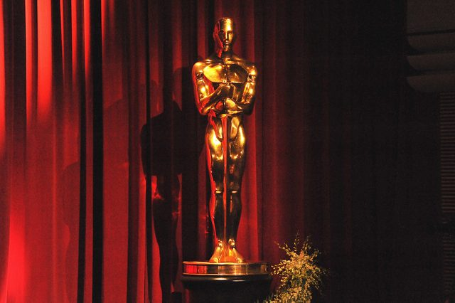 an oscar statue at the 83rd academy awards nominations announcement