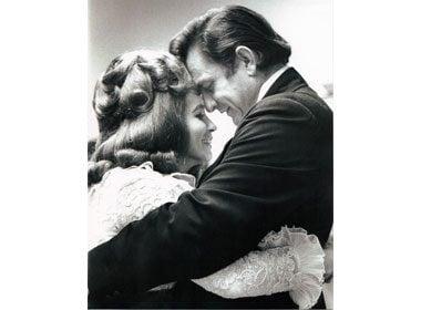 Johnny Cash to June Carter Cash