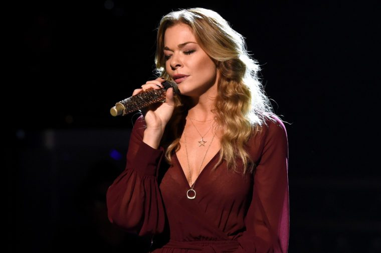 Singer LeAnn Rimes performs during the CMA 2015 Country Christmas on November 7, 2015 in Nashville, Tennessee.