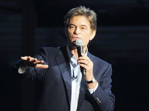 Dr. Oz to Governors: Have More Sex, Eat More Nuts, Start Potato Chip Buyback Programs