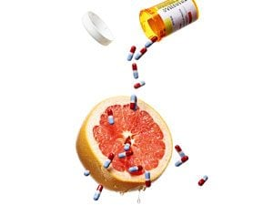 Danger! How Grapefruit and Medications Don't Mix