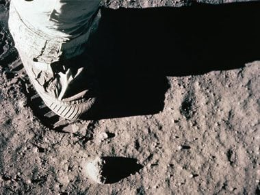artifacts left on the moon, boot