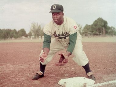 Jackie Robinson joined the Brooklyn Dodgers.