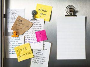 Listing Toward Sanity? A List Maker Explains