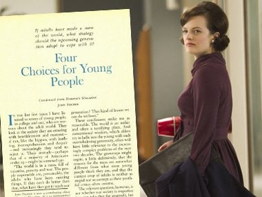 Peggy Olson in:<br>Four Choices for Young People