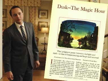 Pete Campbell in:<br>Dusk—The Magic Hour