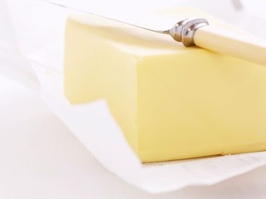 Food myth: Using margarine instead of butter will save calories.