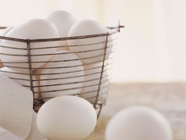 Food myth: Avoid eggs because of their cholesterol content.