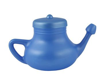 Neti pots are weird, but they work.