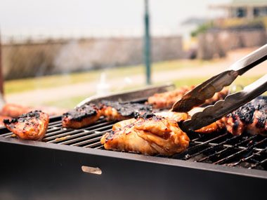 rejuvenate the barbecue grill