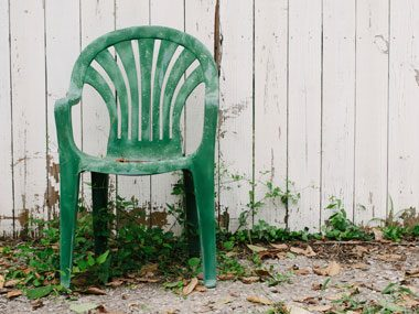 48. Renew faded plastic furniture