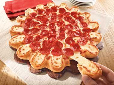 Spring 2013: Pizza Hut's Crazy Cheesy Crust Pizza