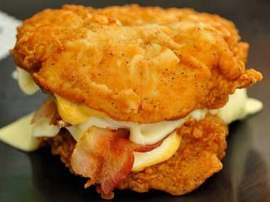 April 2010: KFC's Double Down.