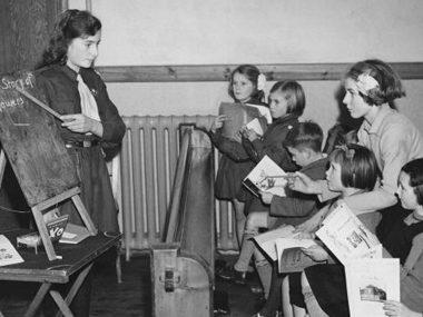 During World War II, cookie sales were put on hold.