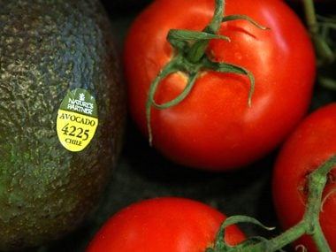 5. You can decode how your food was grown by checking its produce sticker.