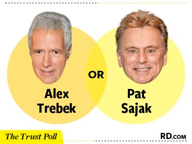 Alex Trebek vs. Pat Sajak
