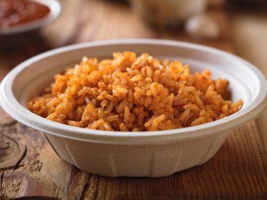 Qdoba: Brown Rice