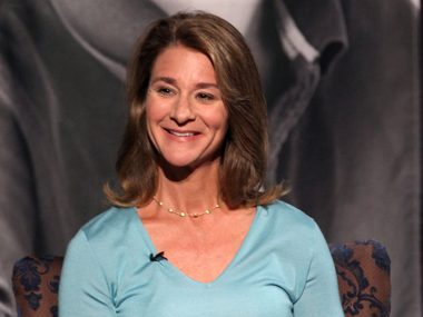 9. Melinda Gates, co-chair, Bill & Melinda Gates Foundation