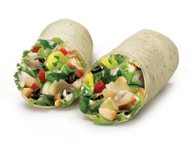 Quiznos: Mediterranean Chicken Wrap