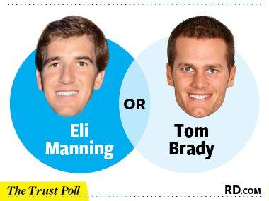 Eli Manning vs. Tom Brady