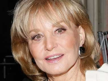 34. Barbara Walters, cohost, The View