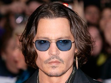 35. Johnny Depp, actor