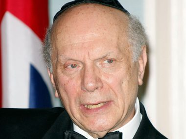 48. Rabbi Arthur Schneier, recipient, Presidential Citizens Medal