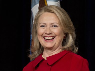 51. Hillary Clinton, former secretary of state