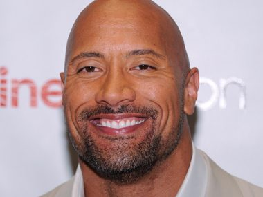 54. Dwayne Johnson, actor
