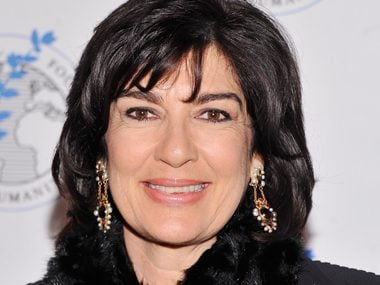 56. Christiane Amanpour, journalist, CNN
