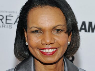 68. Condoleezza Rice, former secretary of state
