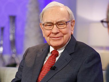71. Warren Buffett, CEO, Berkshire Hathaway
