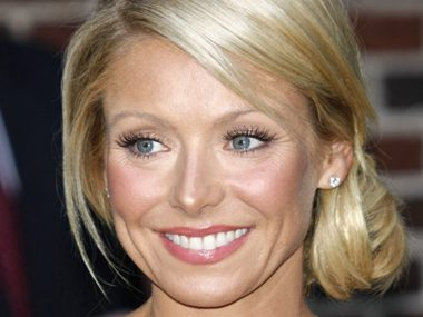 73. Kelly Ripa, cohost, Live with Kelly & Michael