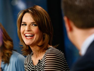 85. Savannah Guthrie, cohost, TODAY